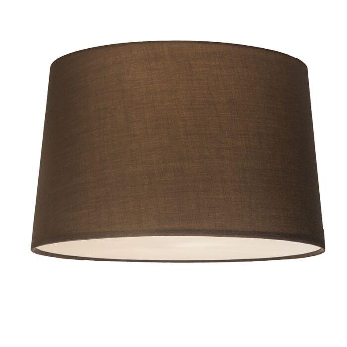 Deckenleuchte-Combi-50cm-braun-mit-Blende