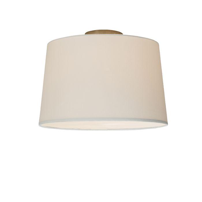 Deckenleuchte-Combi-40cm-weiß-mit-Blende