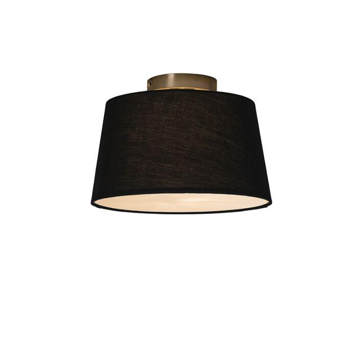 Deckenleuchte-Combi-30cm-schwarz-mit-Blende
