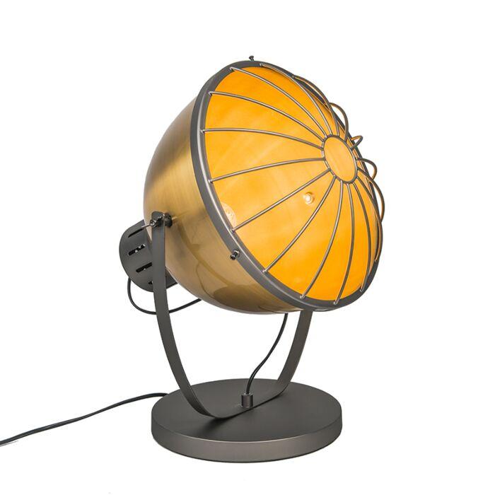 Tischleuchte-Orbita-Gold