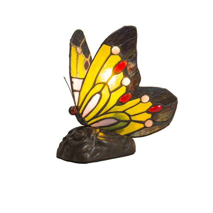 Tischleuchte-Tiffany-Butterfly
