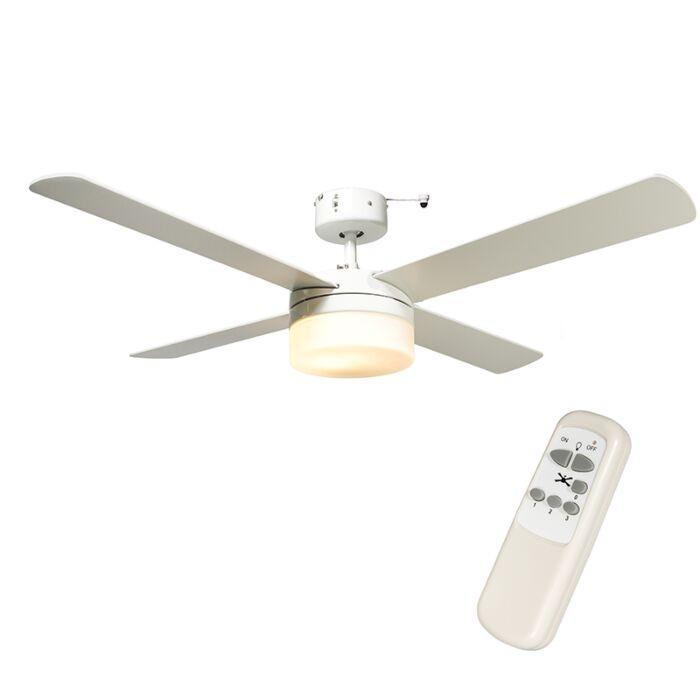 Deckenventilator-Breeze-48-weiss