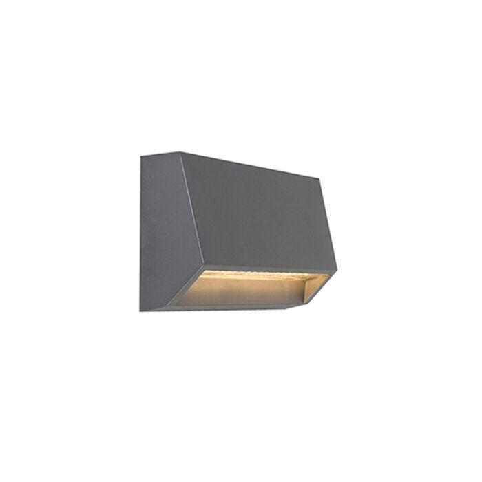 Moderne-Außenwandleuchte-dunkelgrau-inkl.-LED-IP65---Sandstone-2
