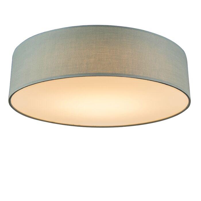 Deckenleuchte-grün-40-cm-inkl.-LED---Drum-