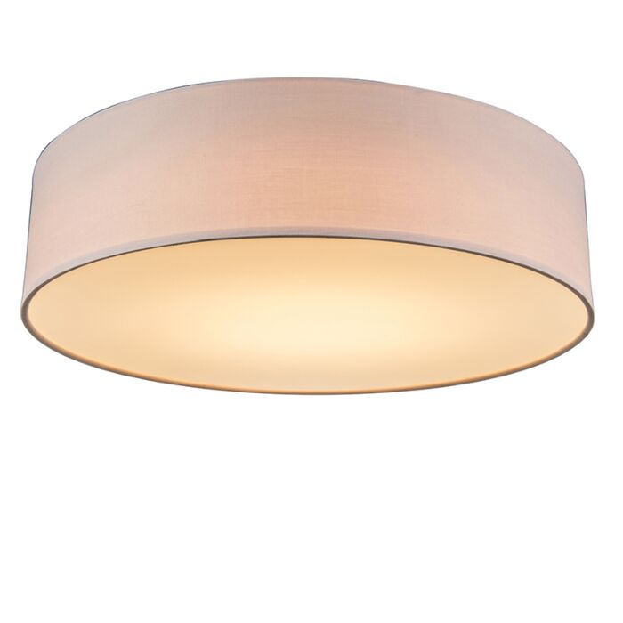 Rosa-Deckenleuchte-40-cm-inkl.-LED---Drum-