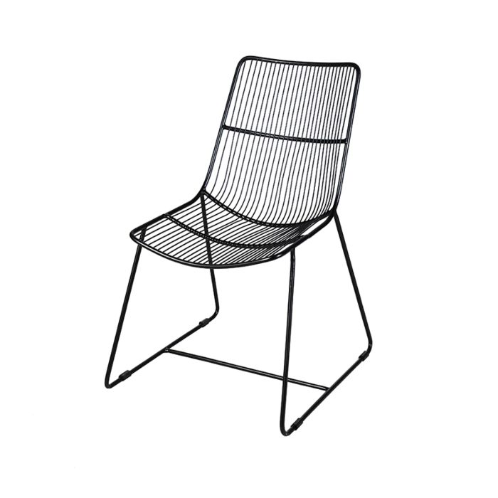 Moderner-Esszimmerstuhl-schwarz---Corda