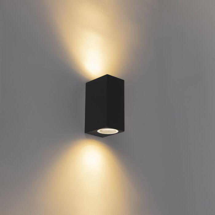 Moderne-Wandleuchte-schwarz-IP44---Baleno-II