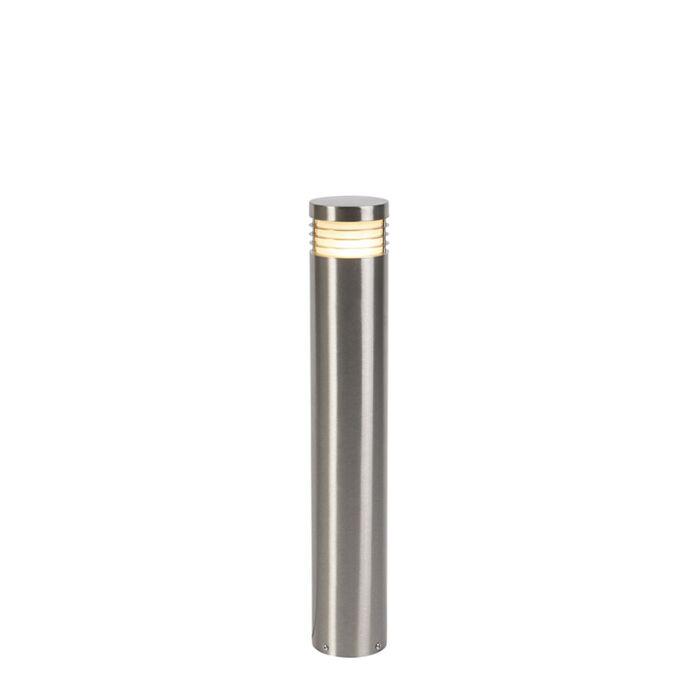 Moderne-stehende-Außenleuchte-Stahl-60-cm-IP44---Doc