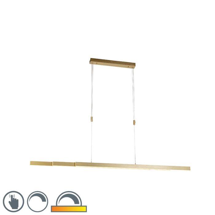 Verstellbare-Hängelampe-Messing-warmdimmbar-inkl.-LED---Juliet