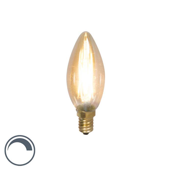 LED-Faden-Kerzenlampe-E14-240V-3,5W-/-200lm-dimmbar