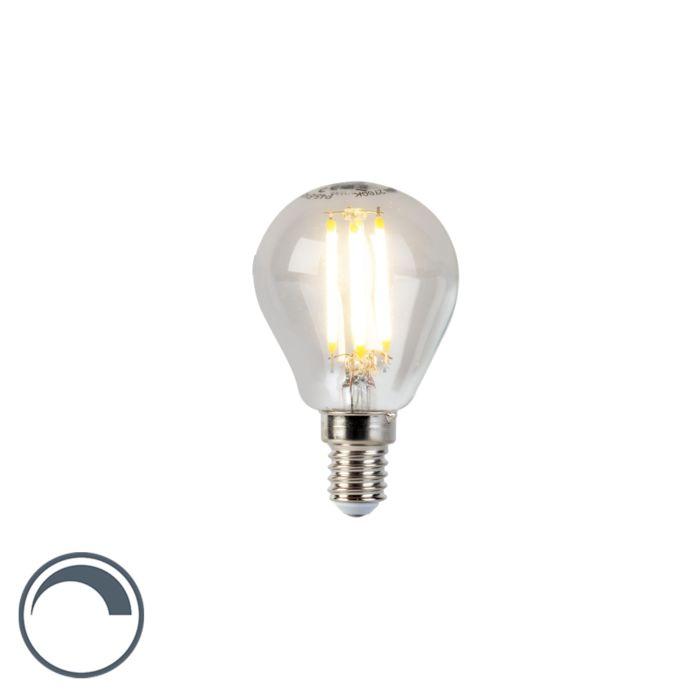 LED-Lampe-E14-5W-470lm-P45-dimmbar