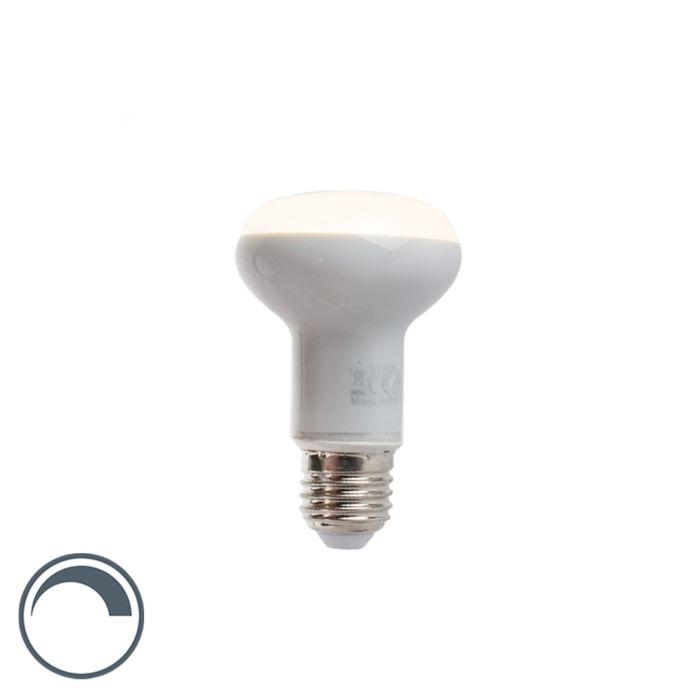 Dimmbare-LED-Reflektorlampe-E27-5W-220-lumen-warmweiß-2900K-R63