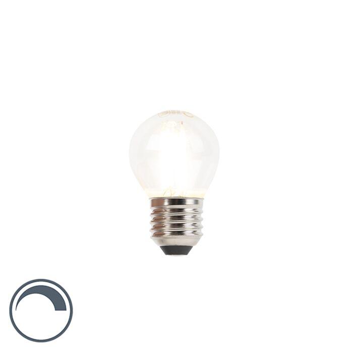 LED-Fadenlampe-Kugel-E27-240V-3W-350lm-P45-dimmbar