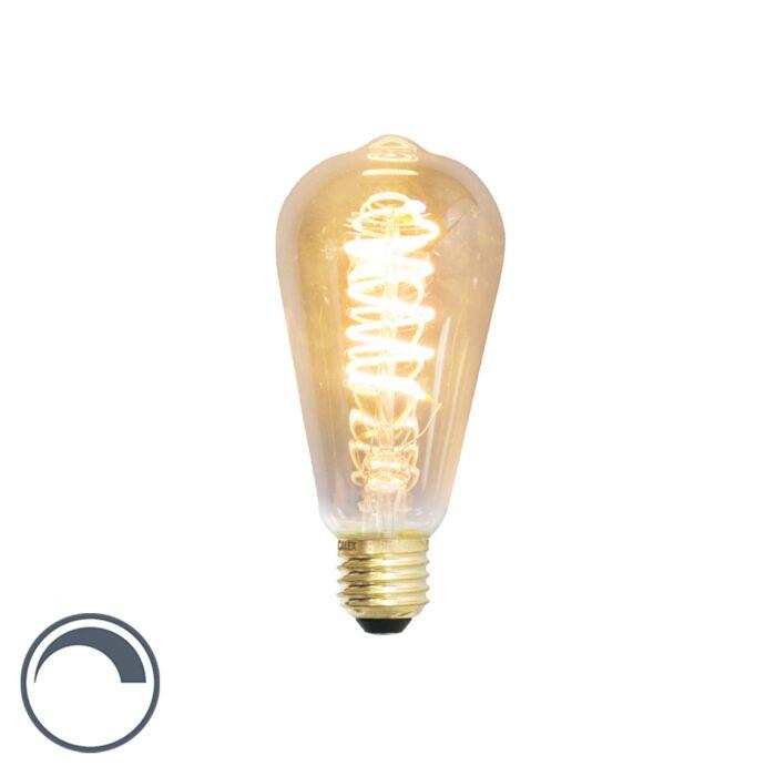 E27-dimmbare-LED-Glühlampe-ST64-4W-200-Lumen-2100K