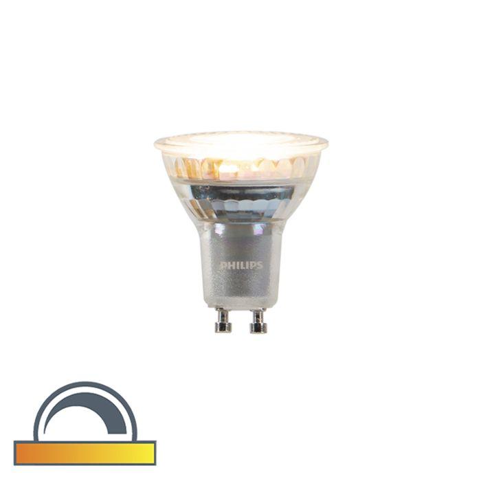 GU10-warmdunkle-Philips-LED-Lampe-3,7-W-260-lm-2200K---2700K