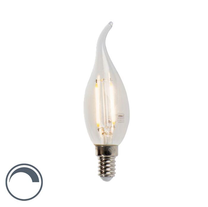 LED-Kerzenlampe-E14-3W-2700K-250lm-F35-dimmbar