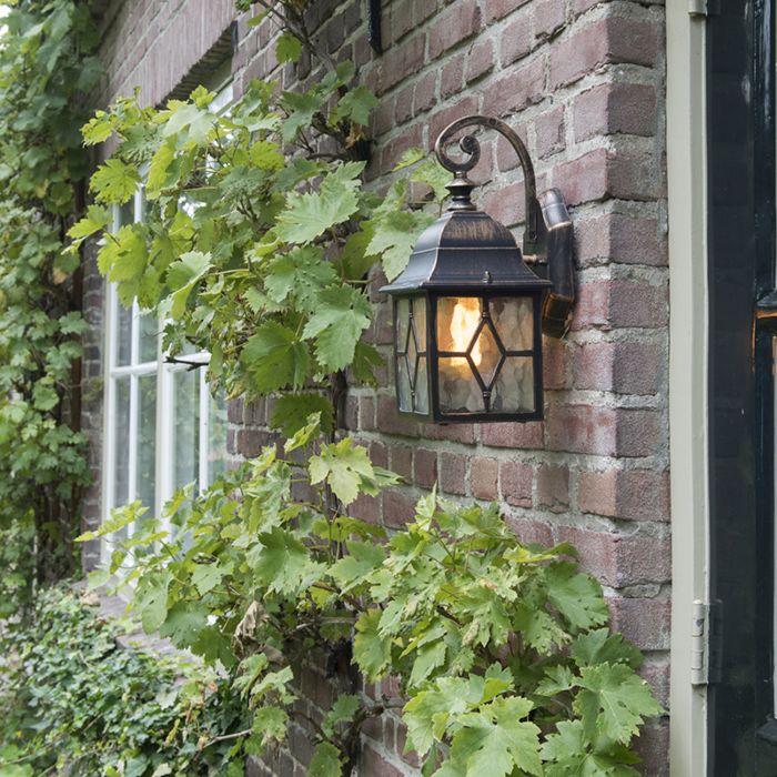 Romantische-Außenlaterne-bronze---London