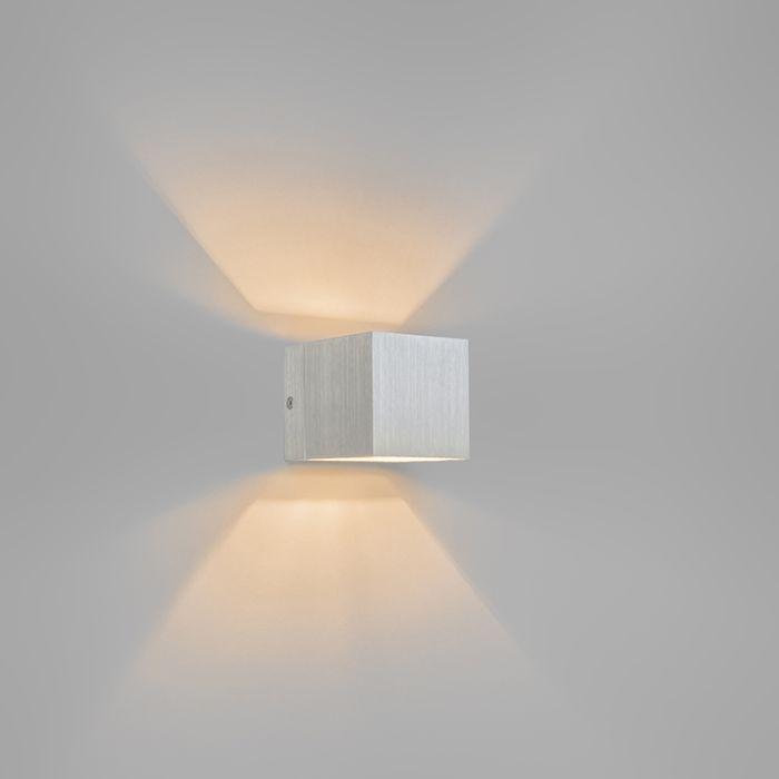 Moderne-Wandleuchte-Aluminium---Transfer-