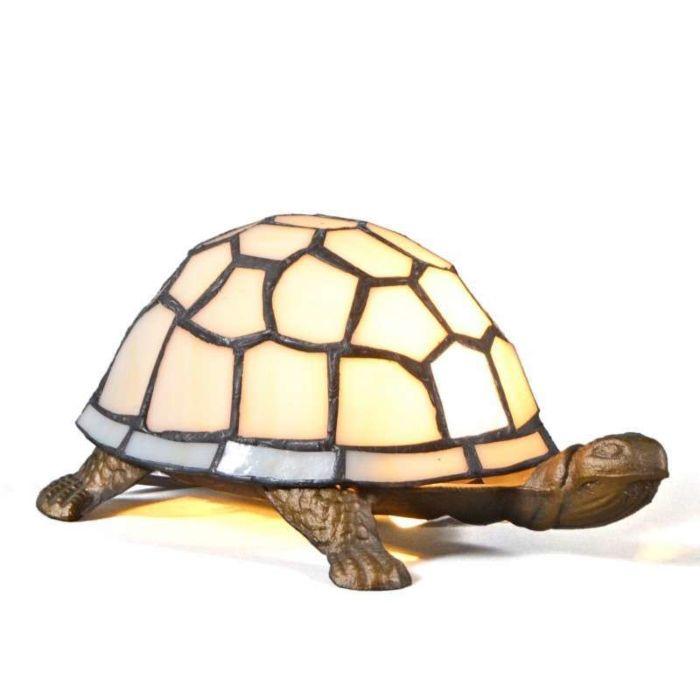 Tiffany-Tischleuchte-Turtle