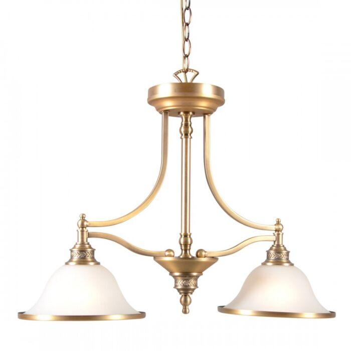 Pendelleuchte-Elegance-II-Bronze