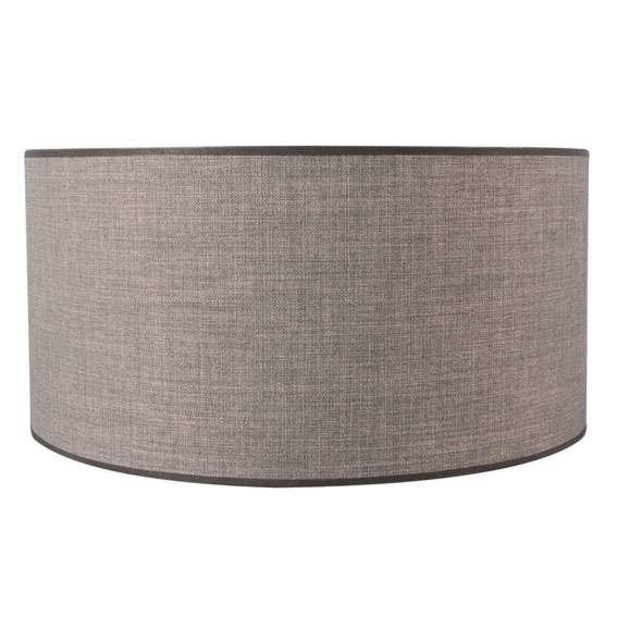 Lampenschirm-50/50/25-braun-grau