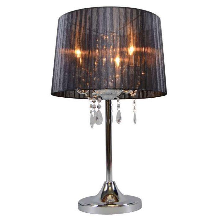 Klassische-Tischlampe-Chrom-mit-schwarzem-Schirm---Ann-Kathrin-3