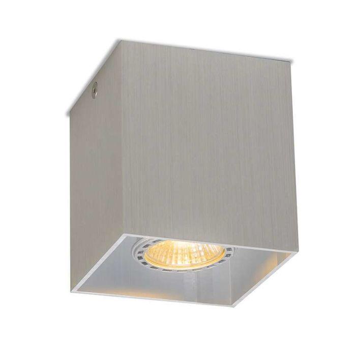 Deckenstrahler-Qubo-1-Aluminium
