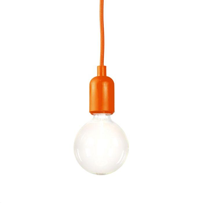 Pendelleuchte-Cava-orange