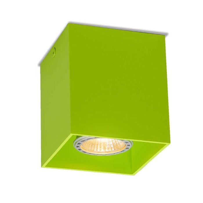 Deckenstrahler-Qubo-1-grün