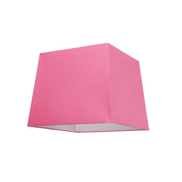 Lampenschirm-30cm-quadratisch-rosa
