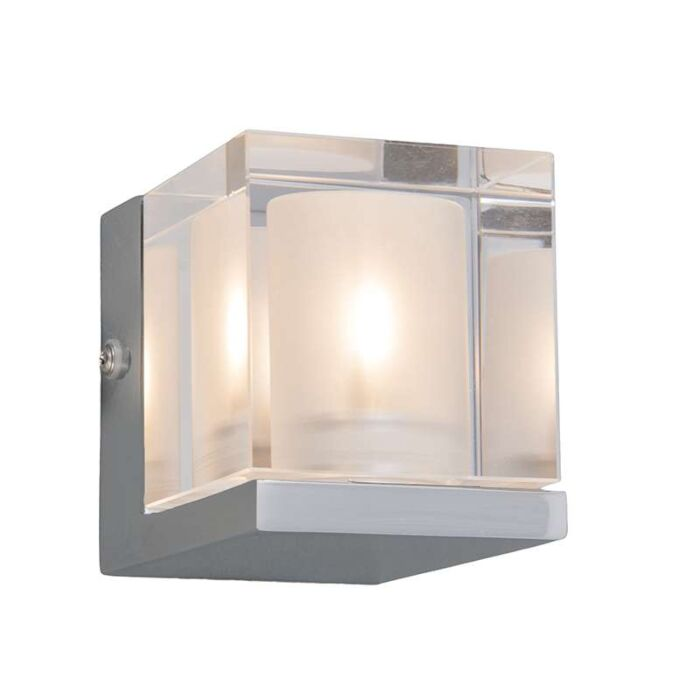 Badezimmer-Wandleuchte-Dice-1-Chrom