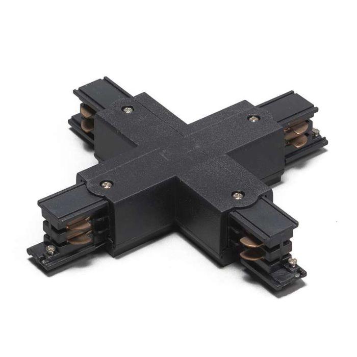 X-Verbindungsstück-für-3-Phasen-Schienensystem-schwarz