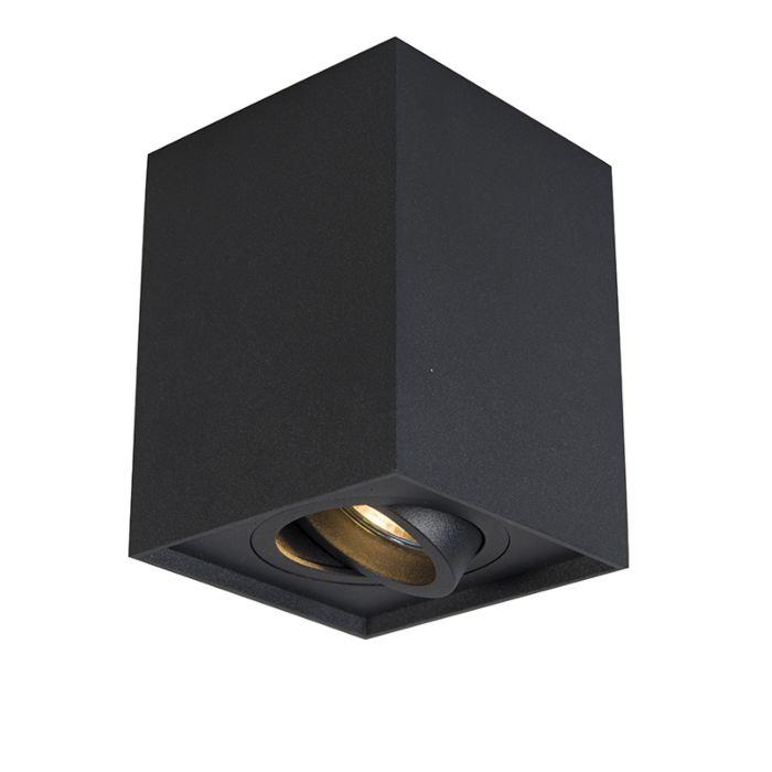 Spot-schwarz-verstellbar---Quadro-1-bis