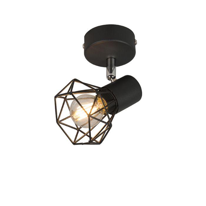 Art-Deco-Spot-schwarz-schwenkbar-und-neigbar---Mosh-1