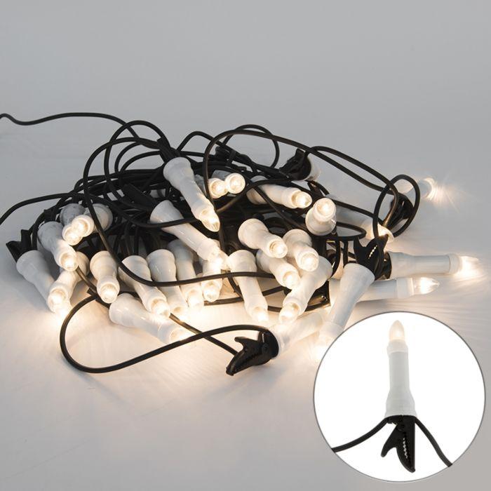 Weihnachtslichterkette-Kerzen-30-warmweiß-13,5-m-außen