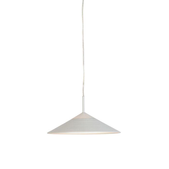 Moderne-Pendelleuchte-weiß-inkl.-LED---Lupos