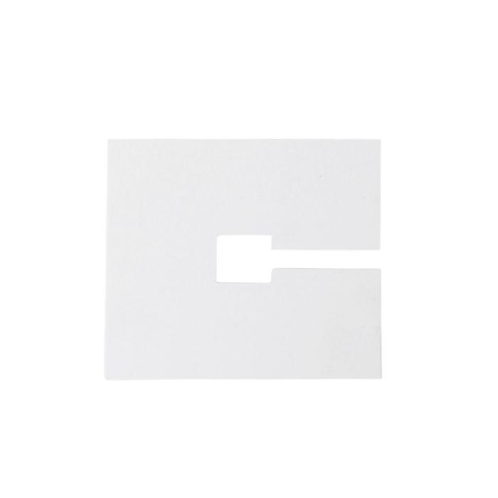 Abdeckplatte-quadratisch-10x10cm-weiß-RAL-9016