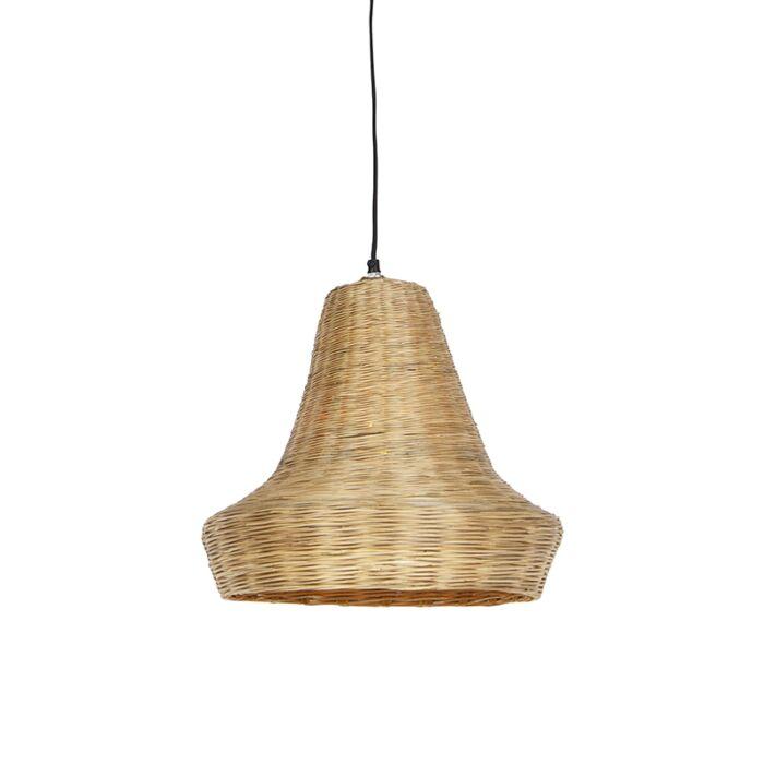 Pendelleuchte-im-Landhausstil-Bambus-natur---Lolium