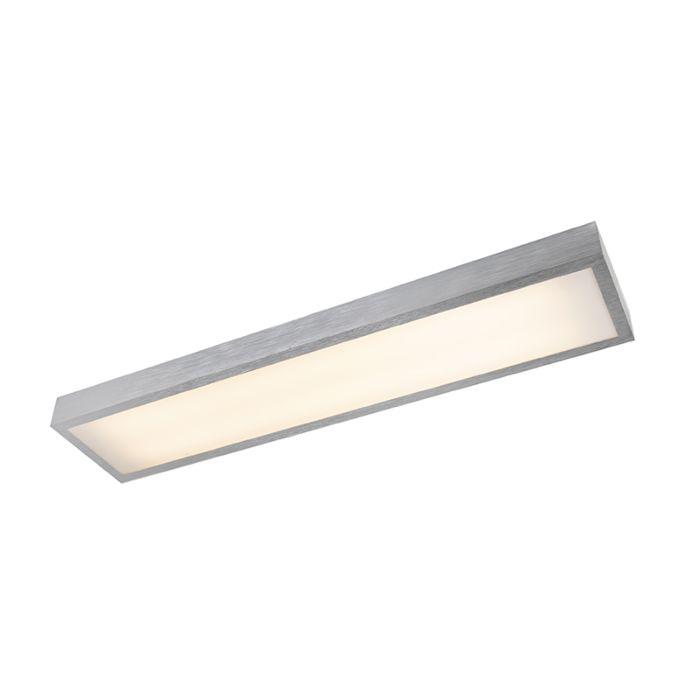 Moderne-längliche-Deckenleuchte-aus-Aluminium-inkl.-LED---Four