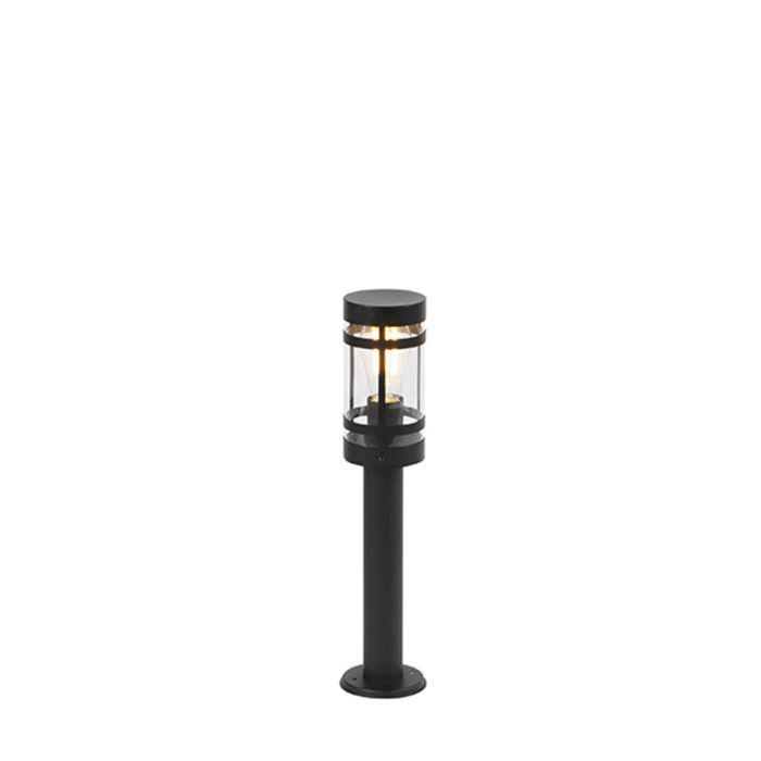 Moderne-Außenleuchte-schwarz-50-cm-IP44---Gleam