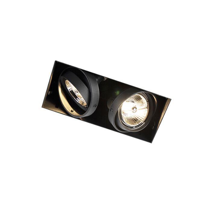 Eingebauter-schwarzer-GU10-randlos---Oneon-2