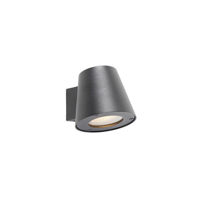 Moderne-Außenwandleuchte-schwarz-IP44---Skittle