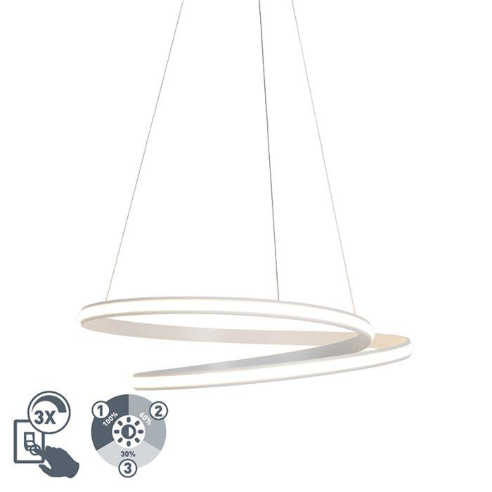 4 LED Innenbeleuchtung Höhenverstellbare Hängelampe A+ weiß 3 Stufen dimmbar
