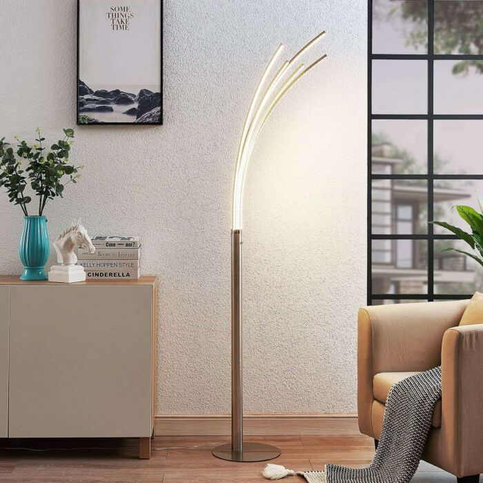 Design-Stehleuchte-Aluminium-inkl.-LED---Boba