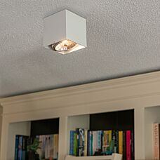 Design-Spot-viereck-1-Flammig-weiß---Box