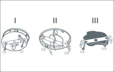 2. Schritt: Befestige die Montagehalterung