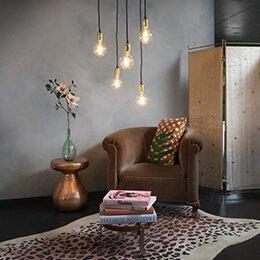 Lampenundleuchten - Leuchten an einer Deckenplatte aufhängen?