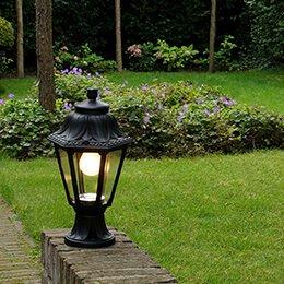 Lampenundleuchten - Gartenbeleuchtung installieren